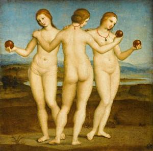Raphaël - Les Trois Grâces