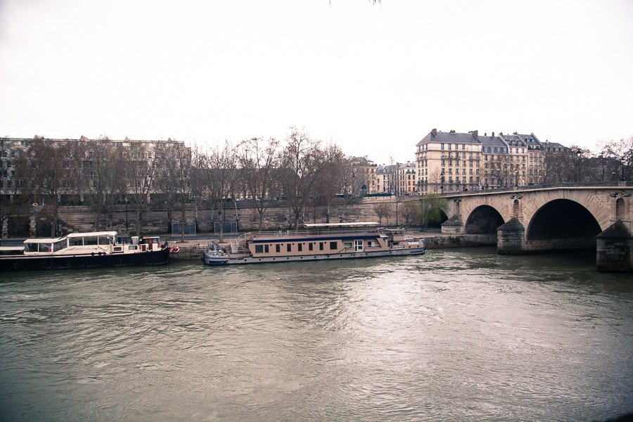 Paris from Quai du Bourbon