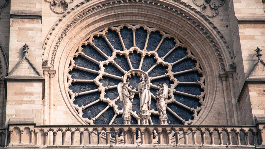 Notre Dame - West Face