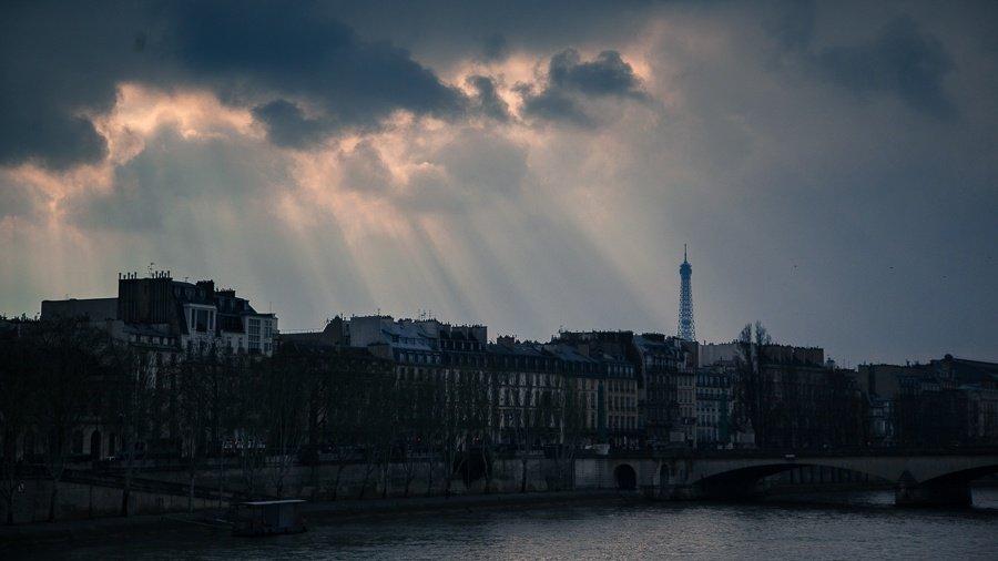 Seine - with Eiffel Tower