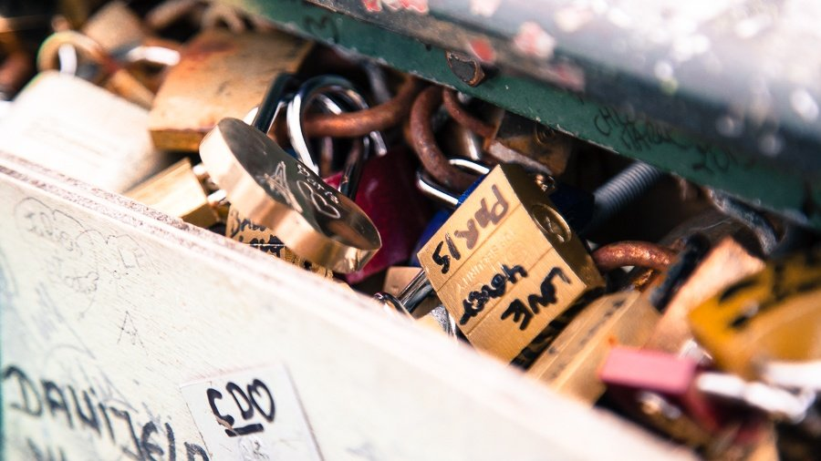 Love Locks - Pont des Arts