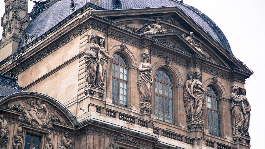 Louvre - Pavillon de l'Horloge