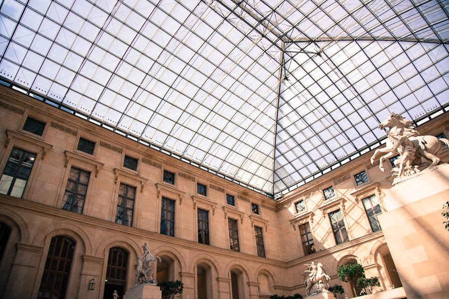 The Louvre - Cour Marly