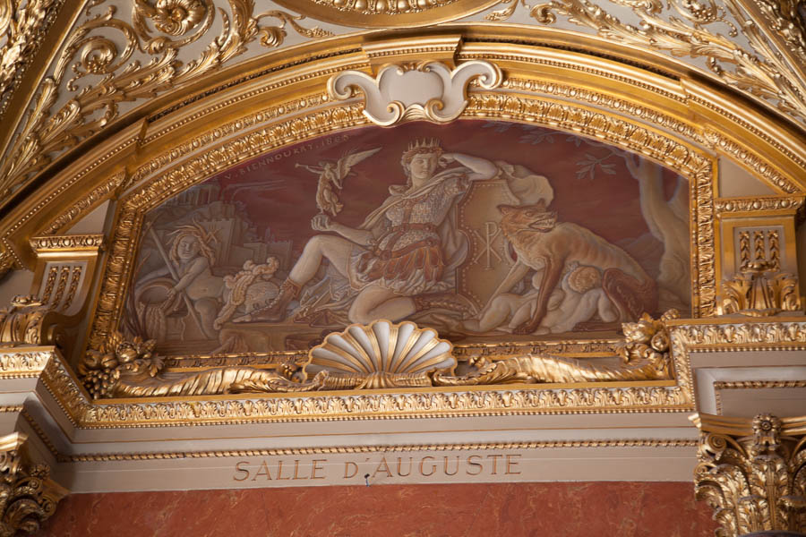 The Louvre - Ceiling