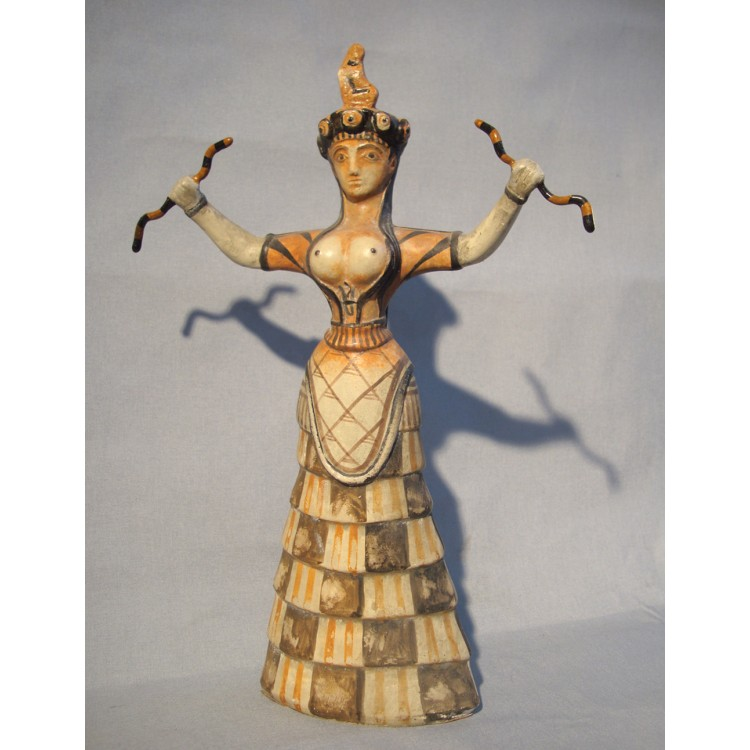 the snake goddess essay The actual representation of the snake goddess is unknown however, a majority of perceptions would all agree that the snake goddess is an important female deity in minoan civilization by analyzing the importance of symbolism, the role of women in minoan civilization and the snake goddesses role.