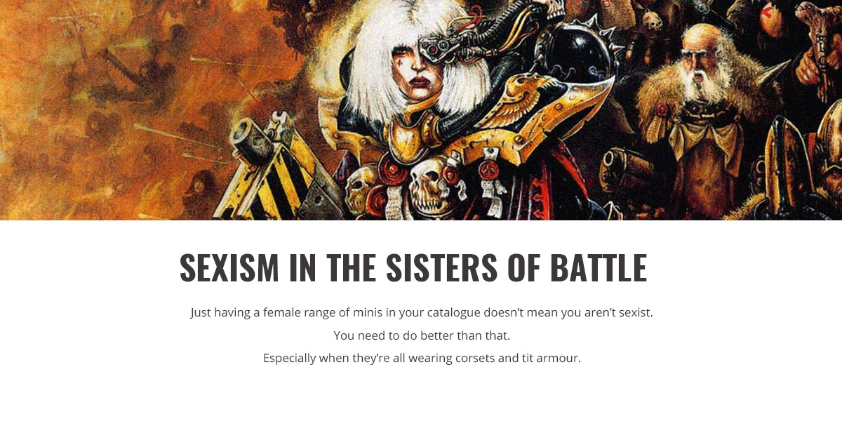 Sisters of Battle Facebook Header